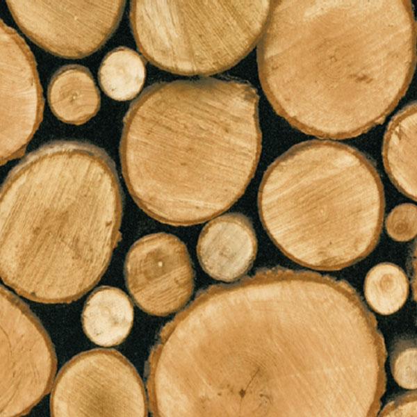 Kontaktplast Logs 90 cm x 2 meter stablet ved Lindas